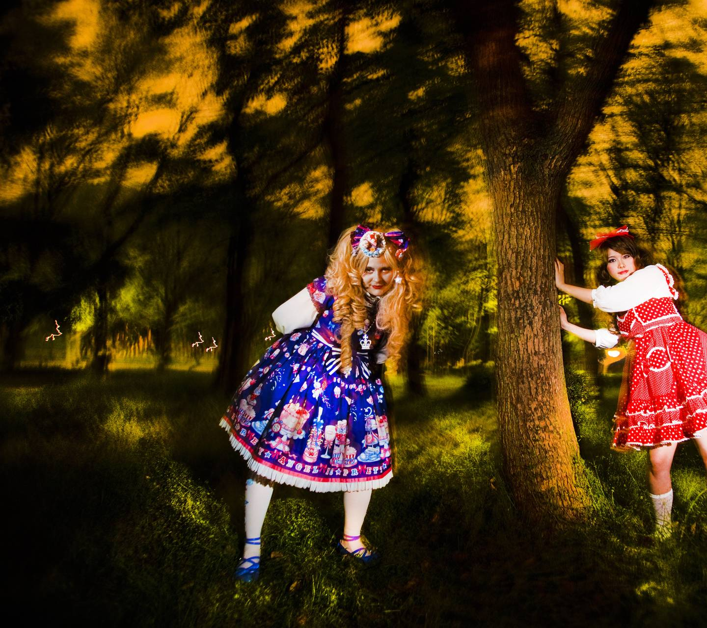 Lolitas In Forest