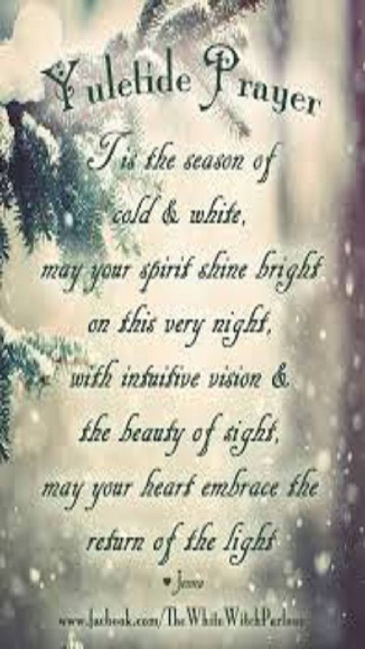 yule blessing