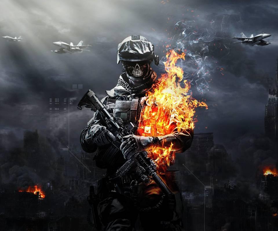 Battlefield Skull