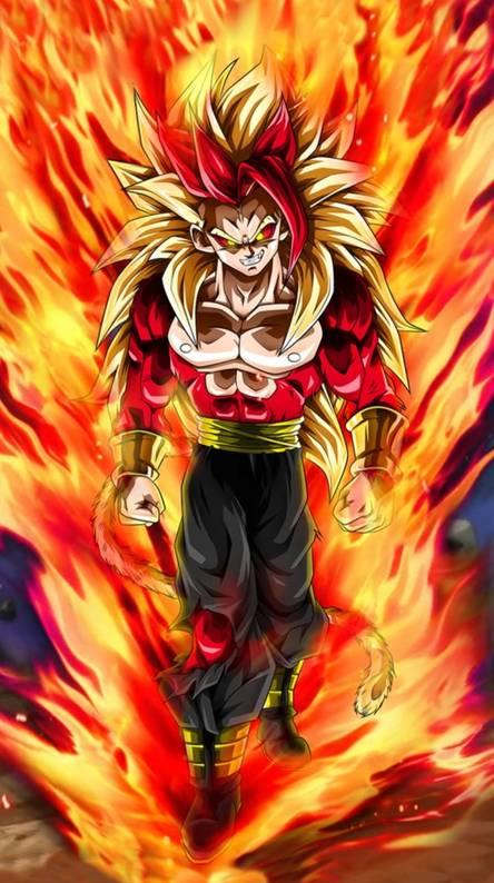 Super Saiyan 4 God