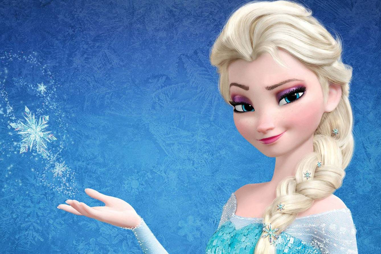 frozen cartoon