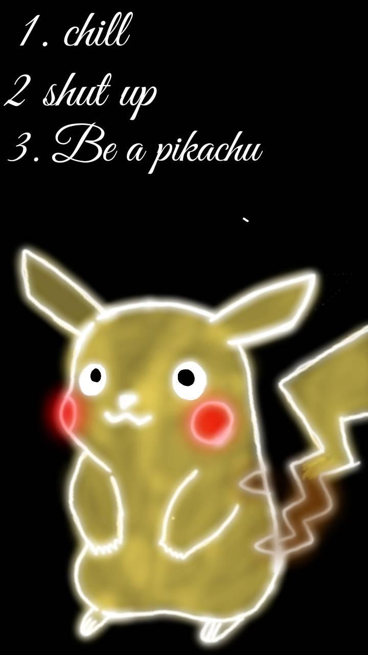 Be a pikachu