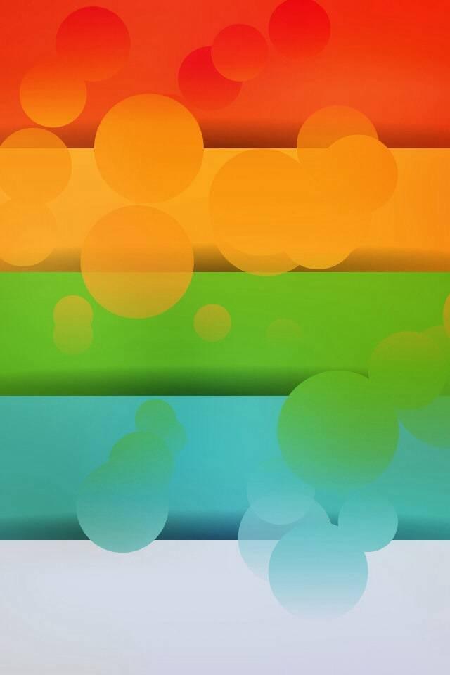 iOS 7 color shelf