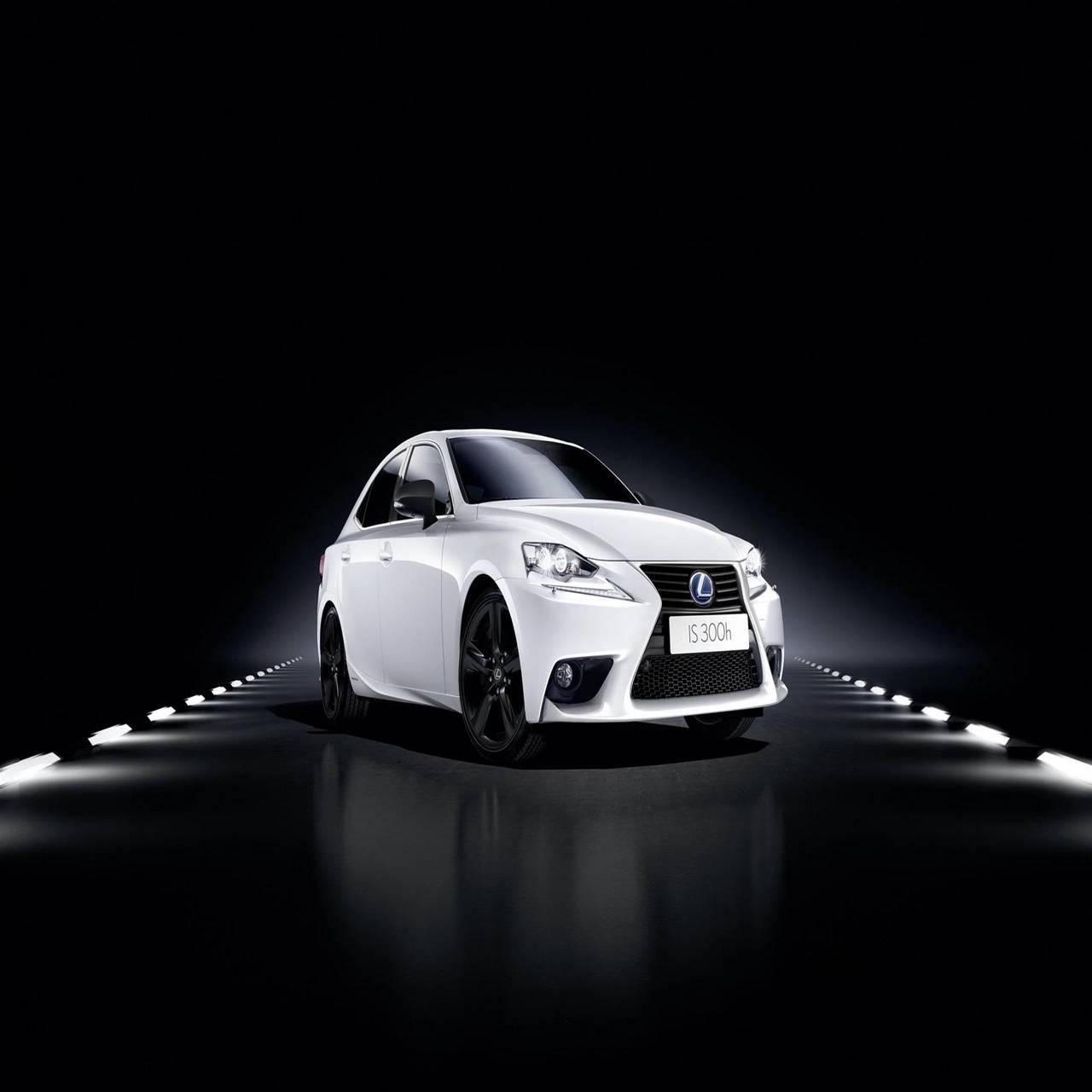 Lexus white car