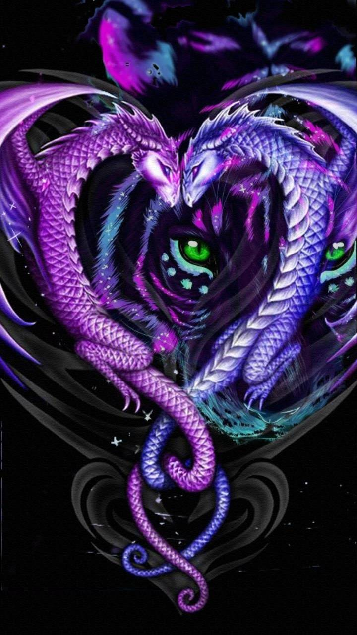 Dragon tiger eyes