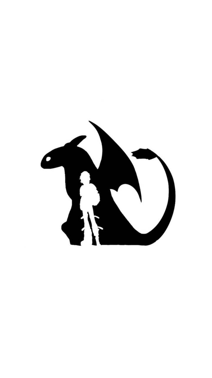 HTTYD silhouette