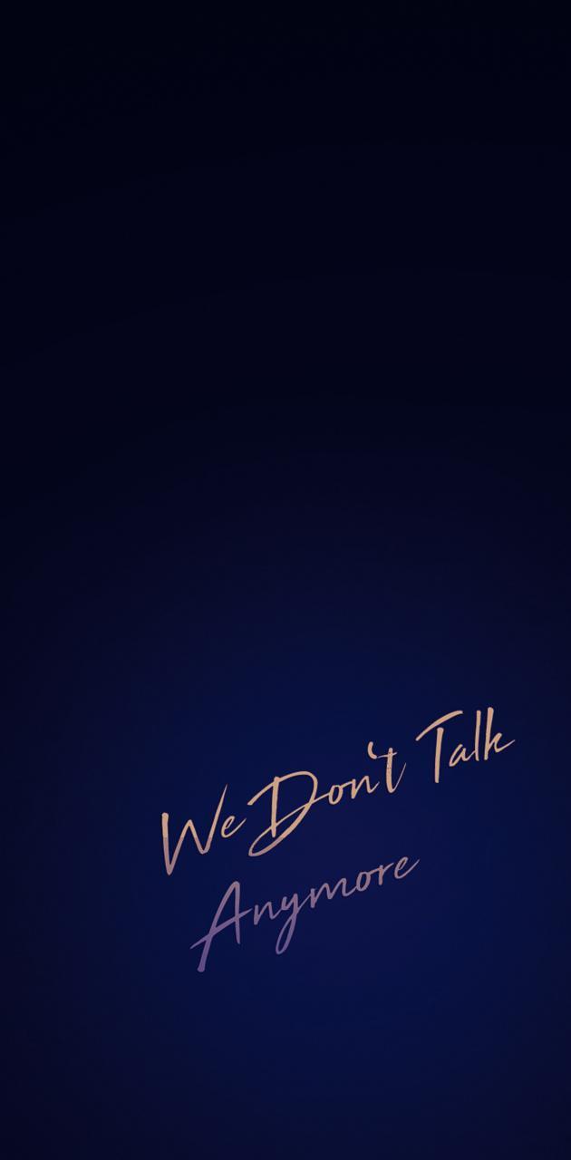 Talk Anymore