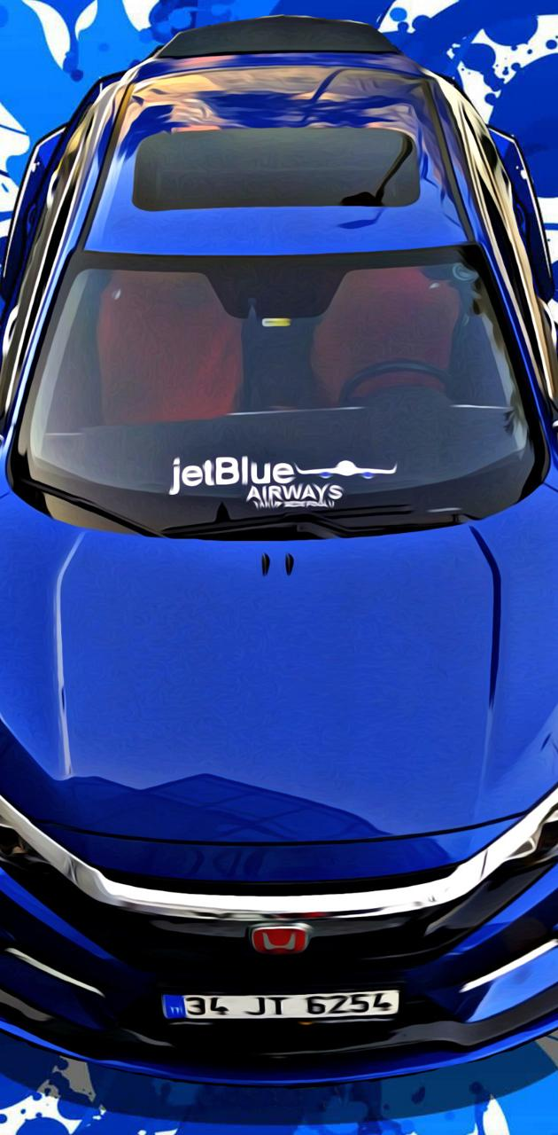 Honda Jetblue Car 21