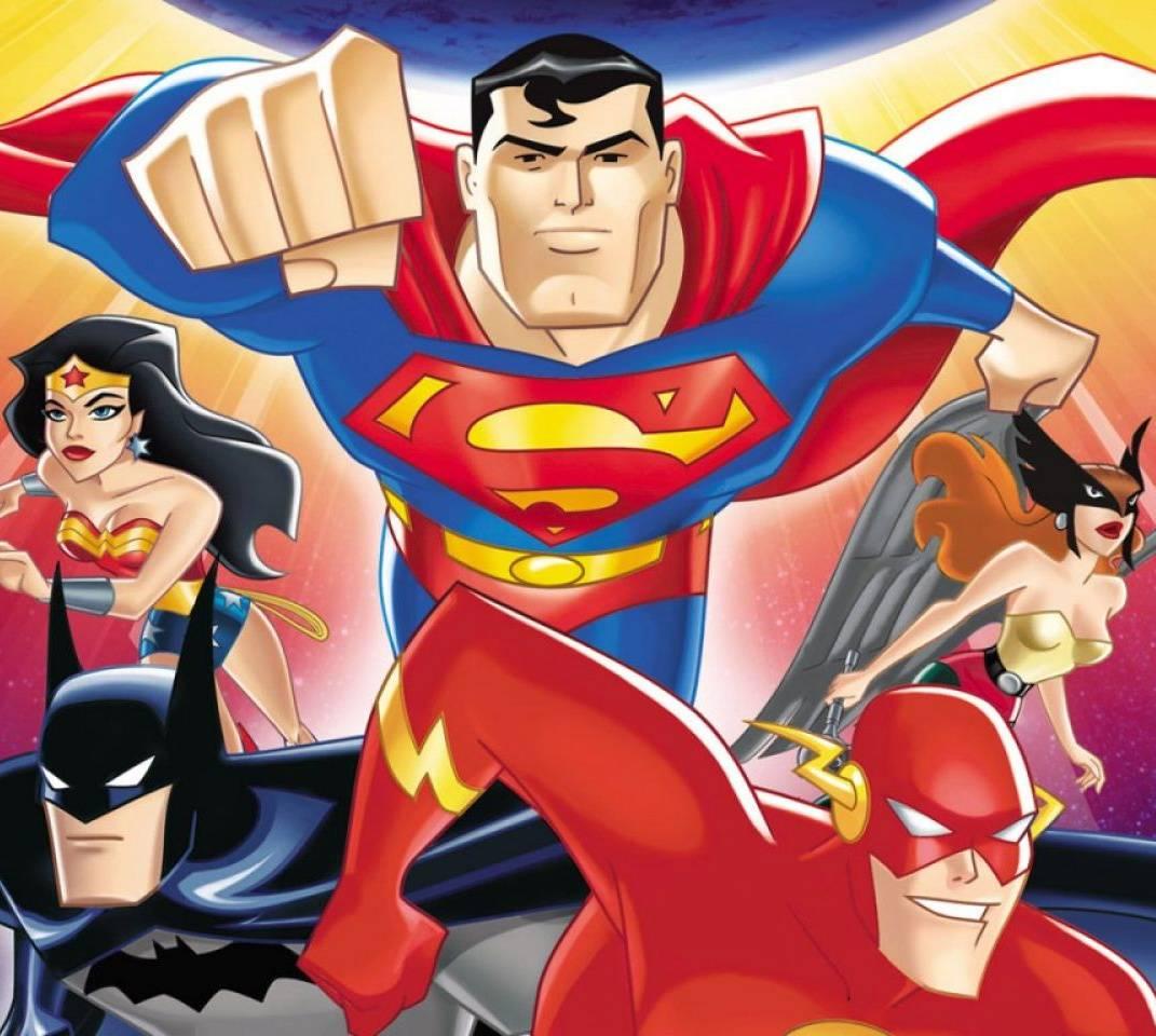 justice league cartoon - HD1152×870