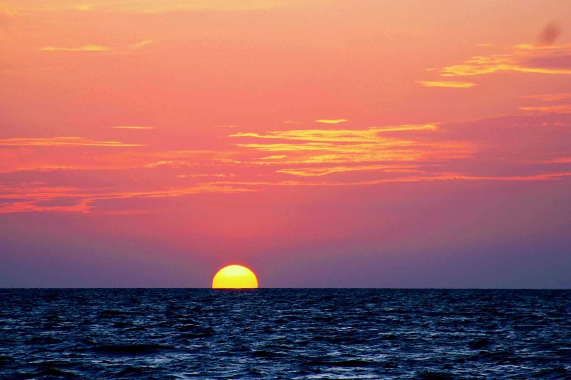 Nature Coast Sunset