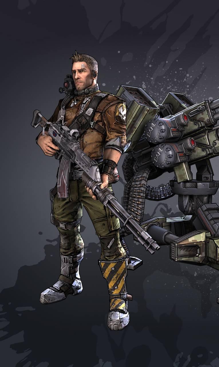 Commando Borderlands