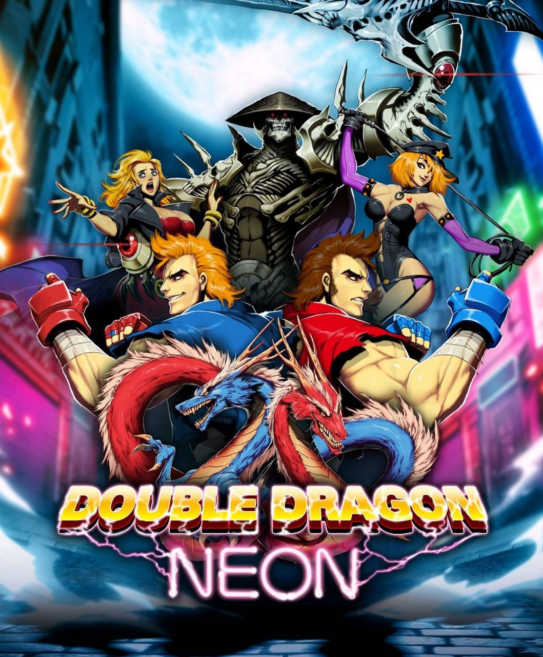 Double Dragon Neon Wallpaper By Gabe98 0d Free On Zedge