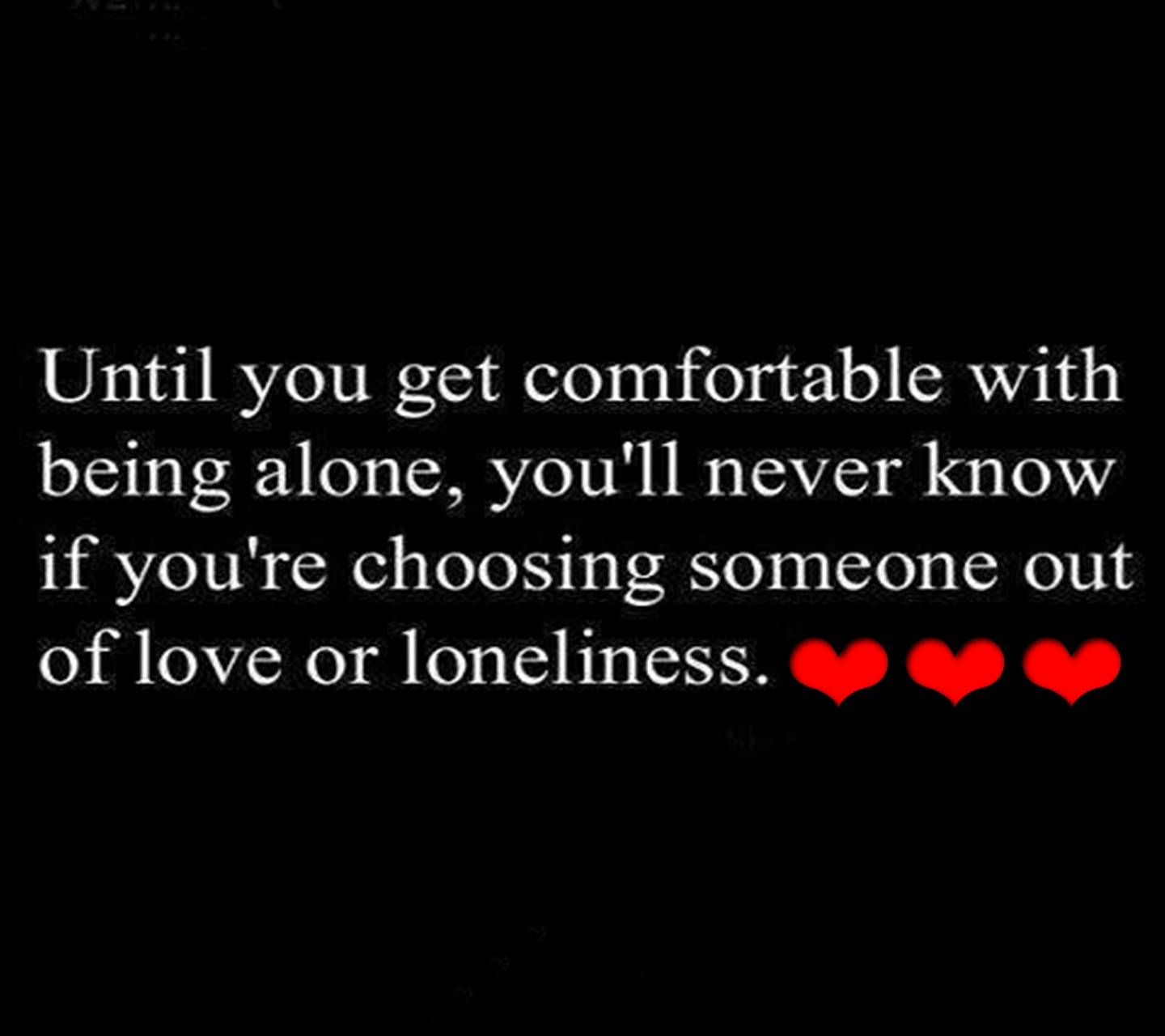 Love Of Loneliness