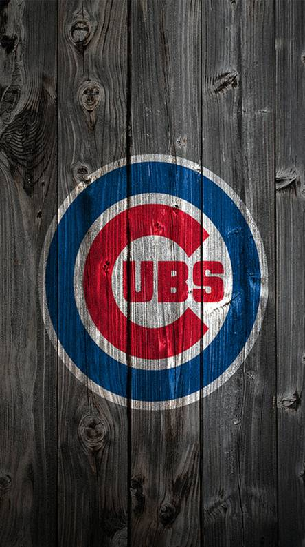 Chicago Cubs. Wooden cubs