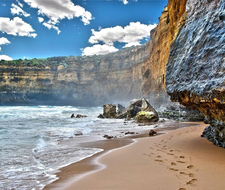 Beach Rock Hd