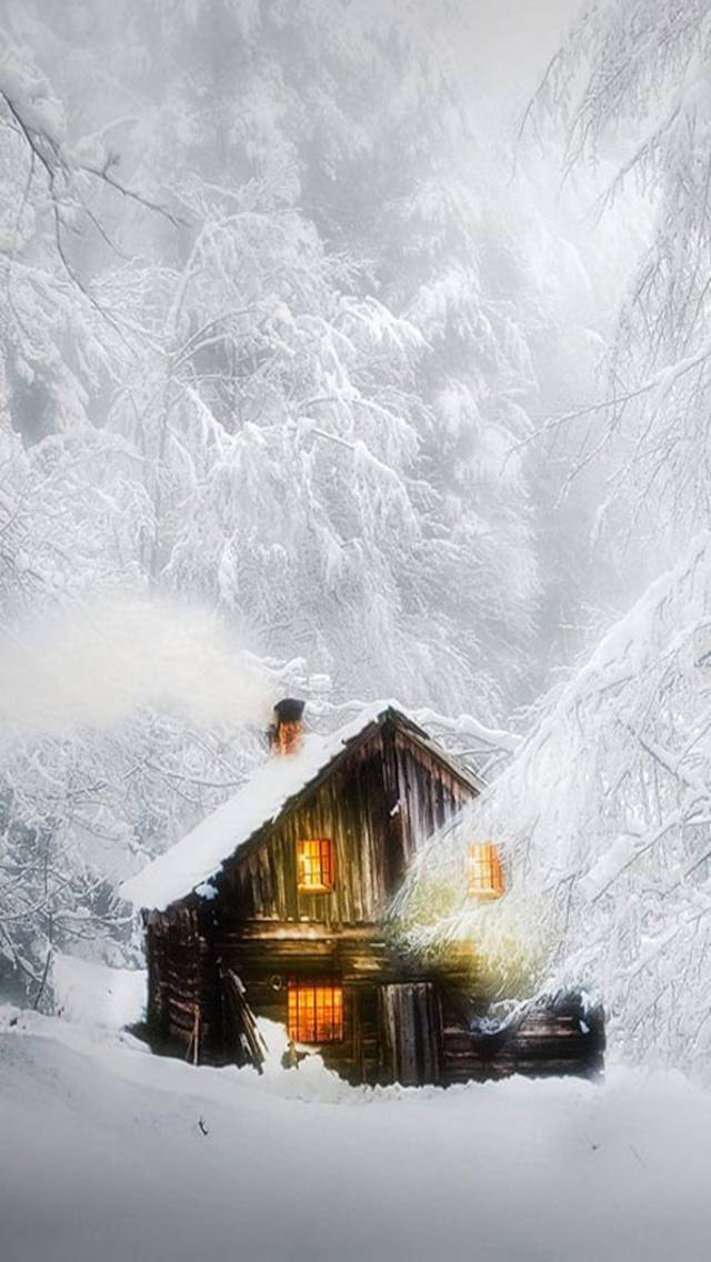 snowy night wallpaper by perfumevanilla 56 free on zedge