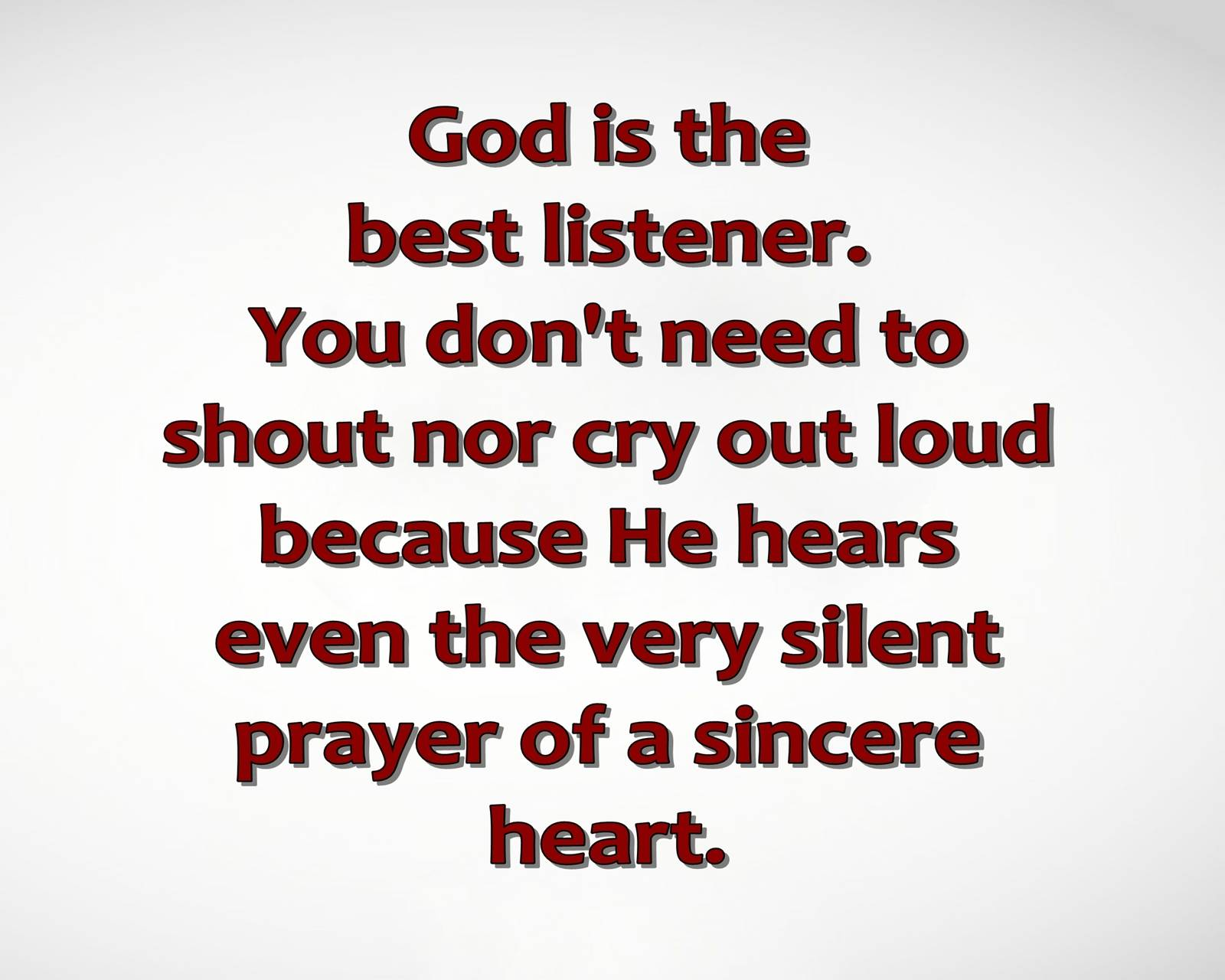 sincere heart