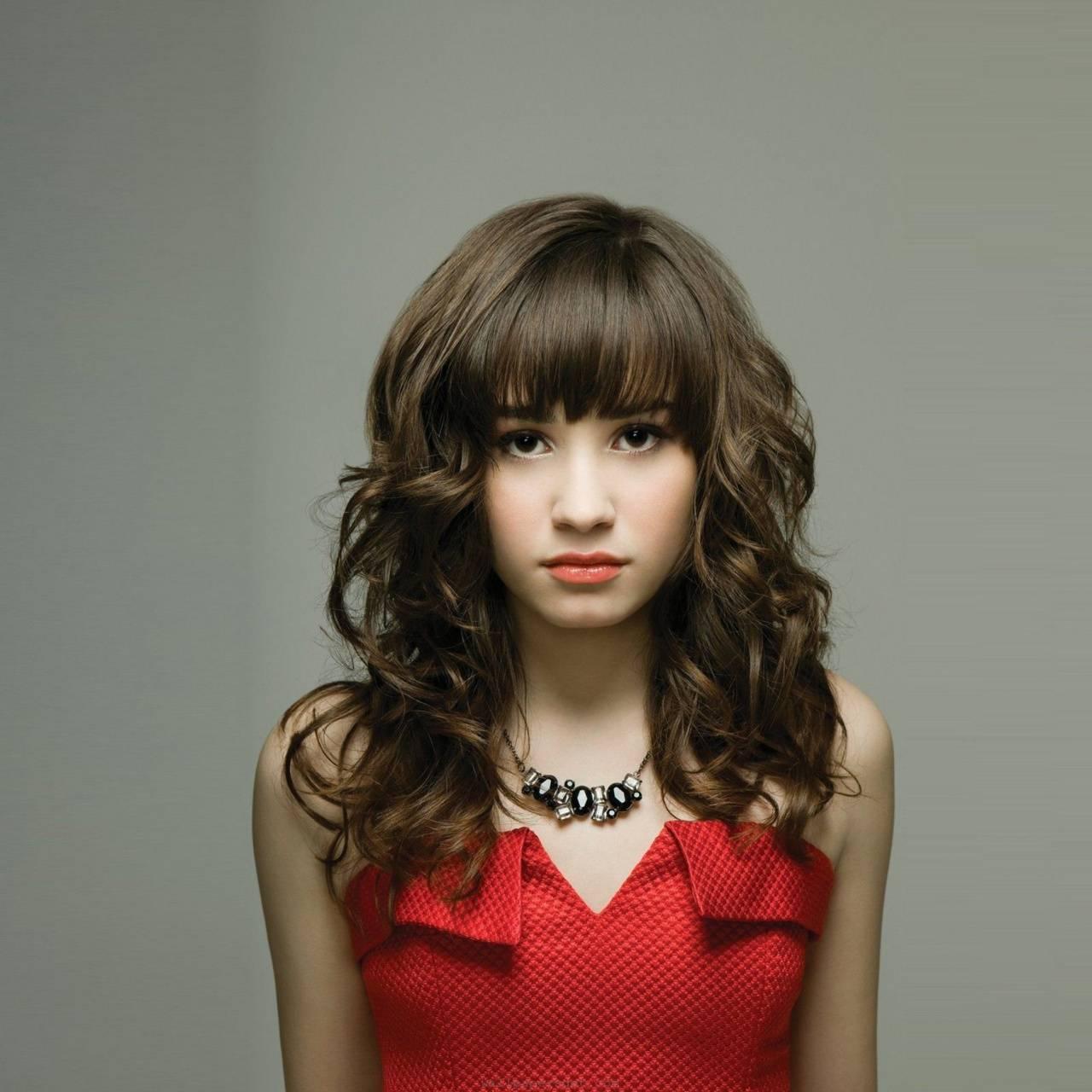 The Curly hair girl