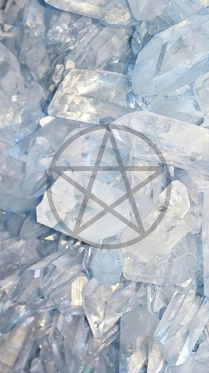 Gemstone Pentacle
