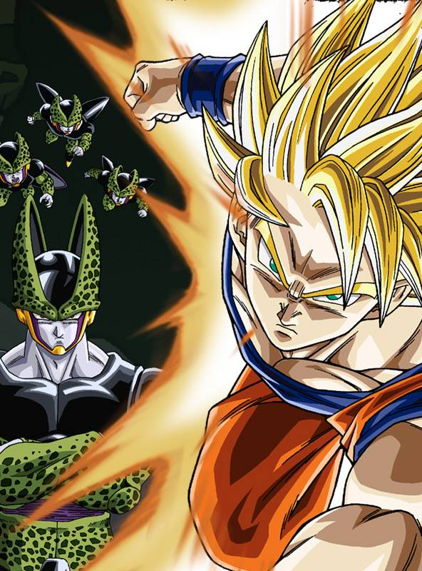 Goku And Cell Wallpaper By Luigyh E1 Free On Zedge