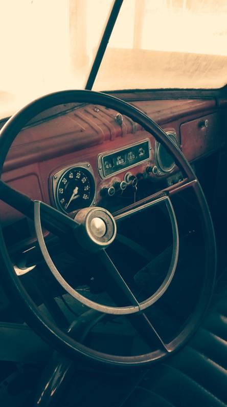 1948 dodge truk dash
