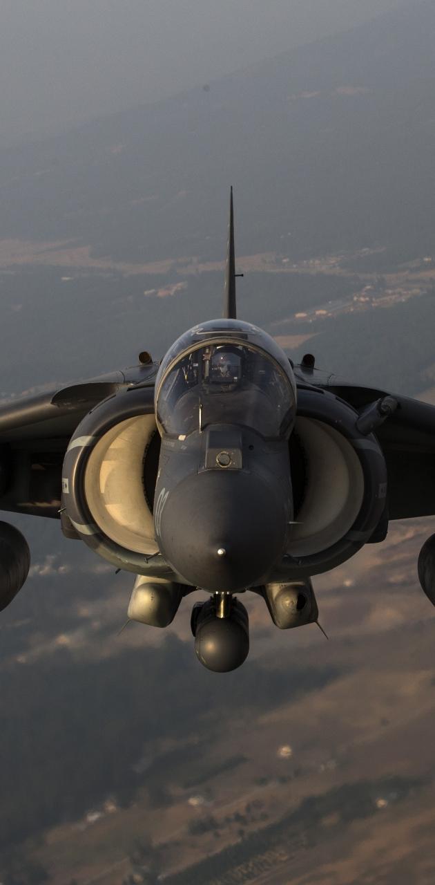 Harrier jet fighter