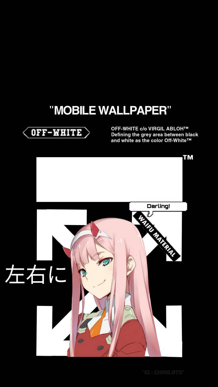 Zero Two Off White Wallpaper By Puredopeness 6e Free On Zedge