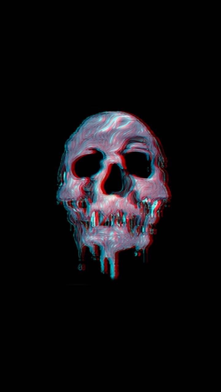 Skull Glitch Wallpaper By Glitchs B7 Free On Zedge