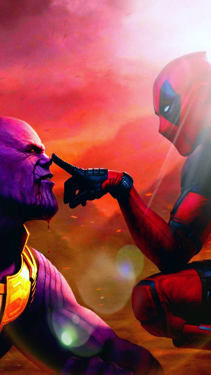 Thanos Deadpool Love