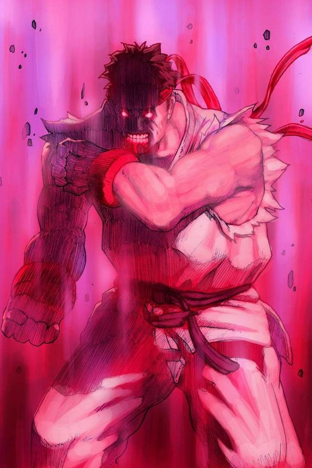 Evil Ryu Sf Wallpaper By Gwongming 4e Free On Zedge