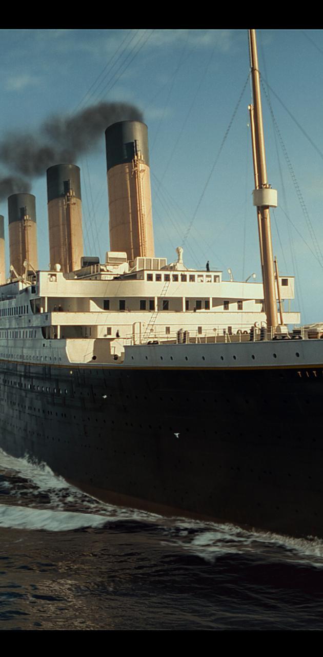 Titanic At Sea 1