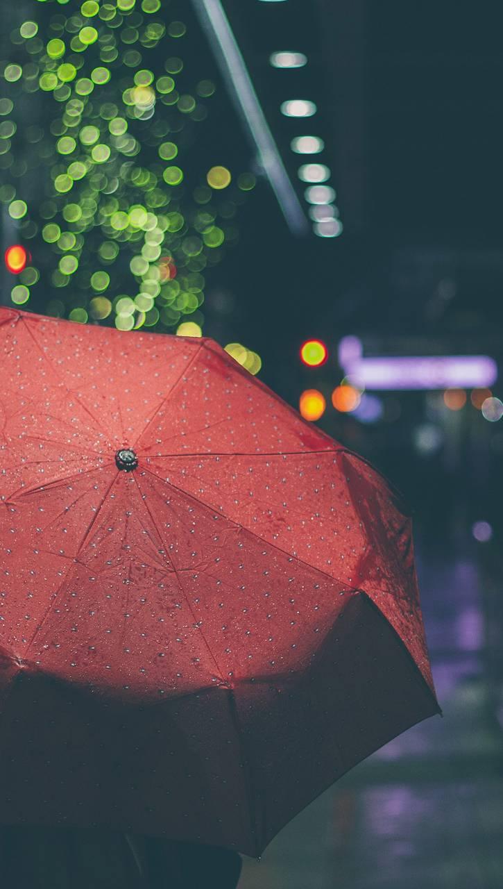 Red Umbrella Wallpaper By SlipperyNutt
