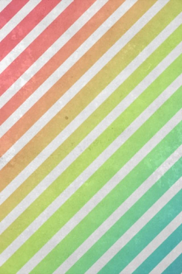 Retro Rainbow Stripe
