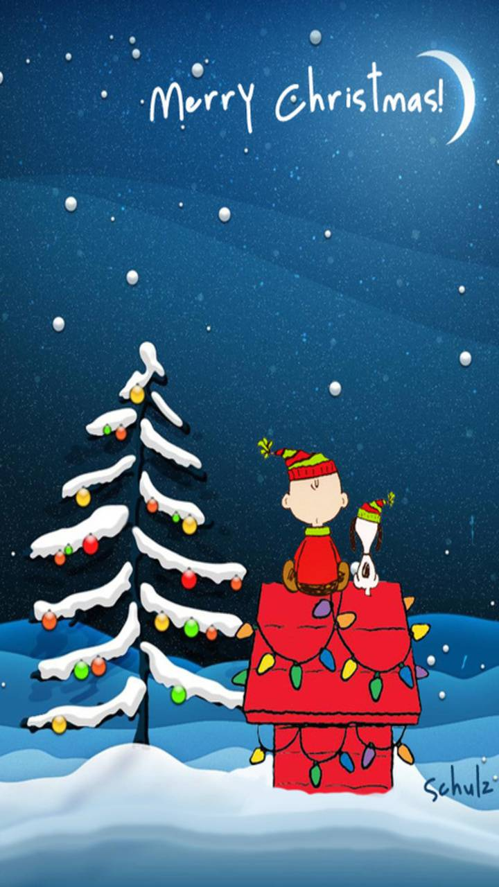 Peanuts Christmas wallpaper by