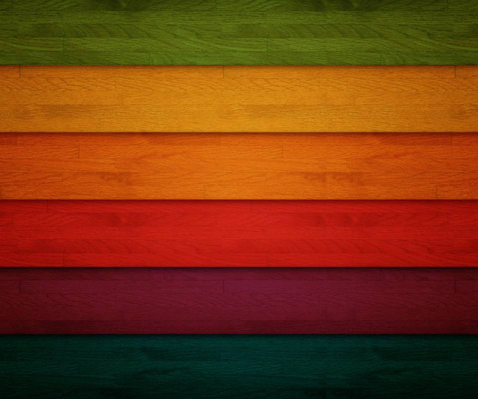 Colourful Wood Lines