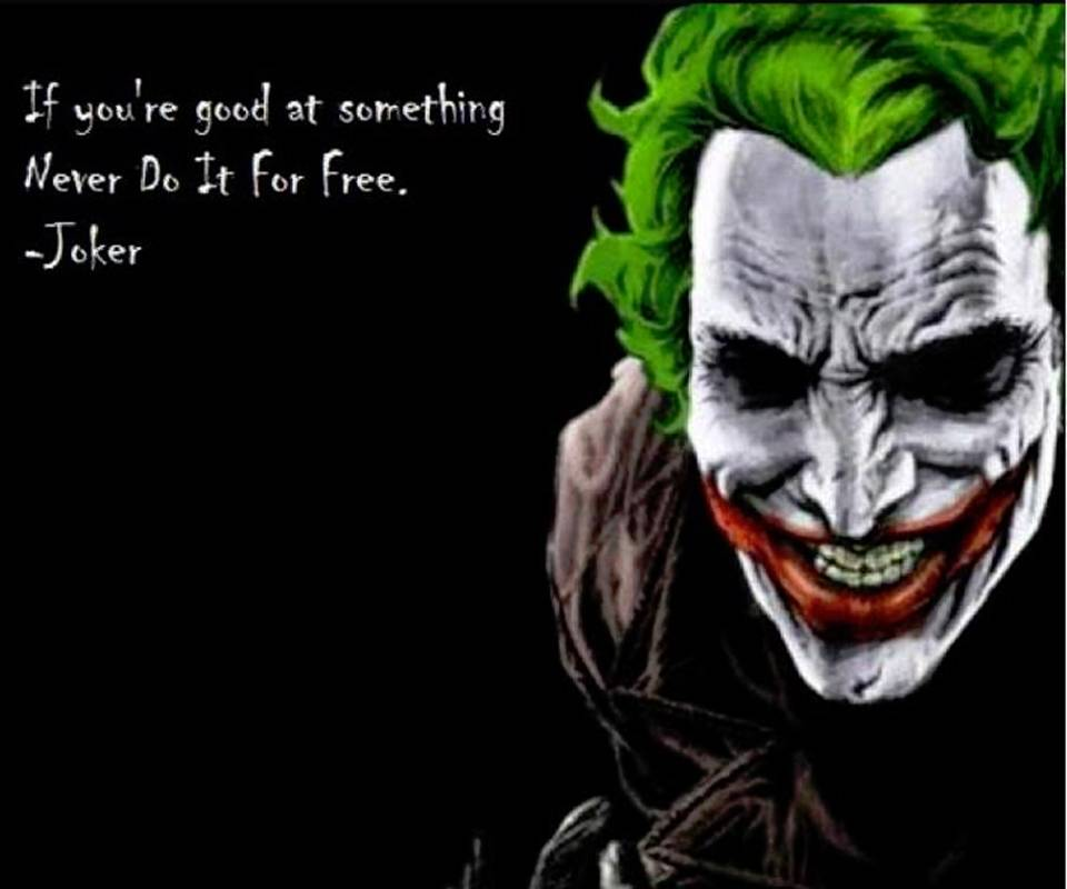 The Joker Quote Wallpaper By Mysterygirl 46 Free On Zedge