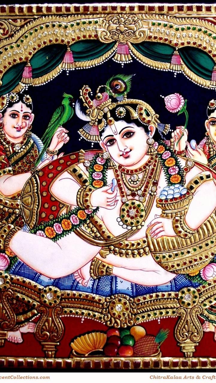 Butter Pot Krishna