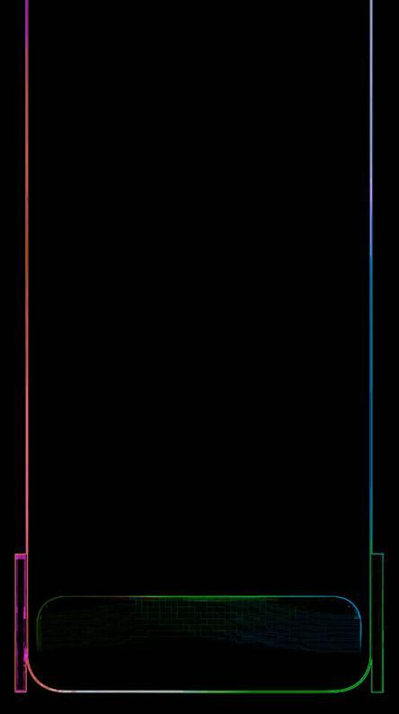 Neon iPhone X