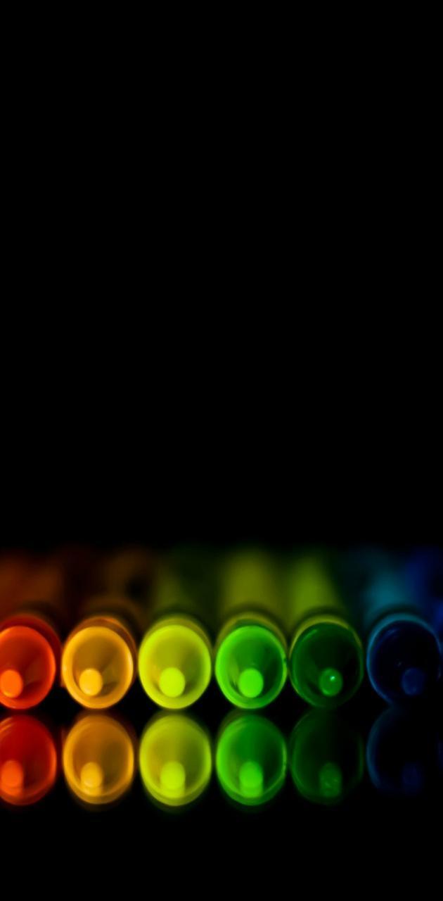 hd colorful crayons