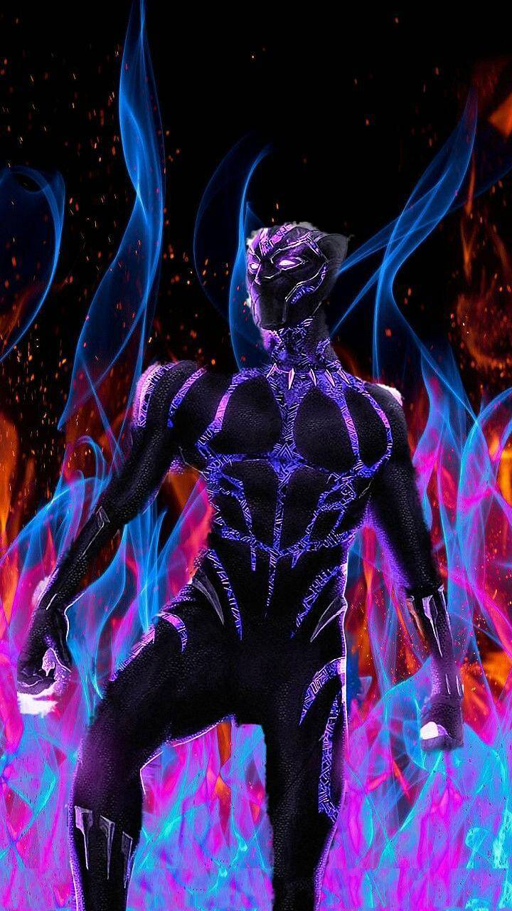 Black panther fire