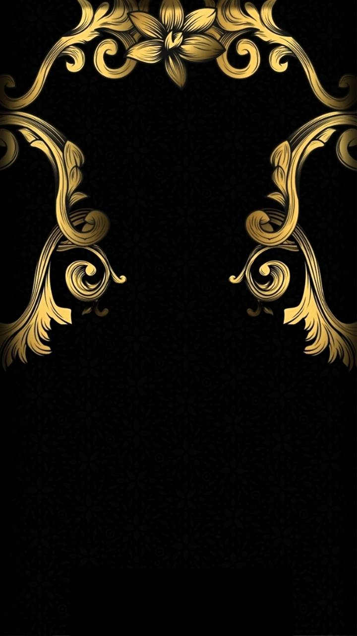 4k Gold And Black Wallpaper By Hende09 25 Free On Zedge