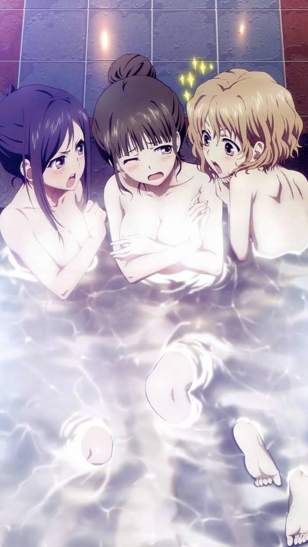 Anime Girls Bathing