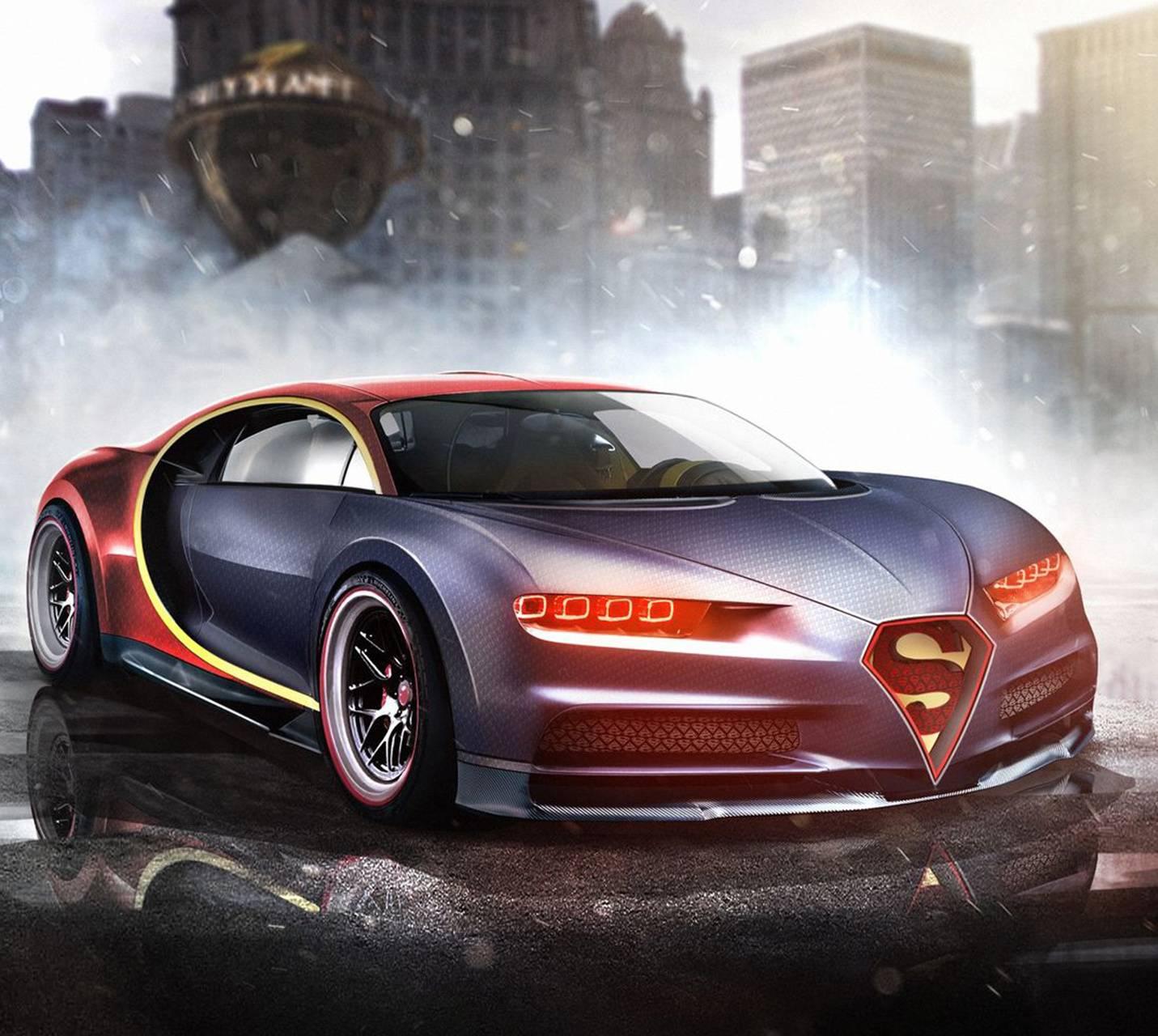 Superman Bugatti Wallpaper By ILovedUB4
