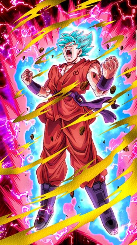 Ssj Blue Goku Kioken
