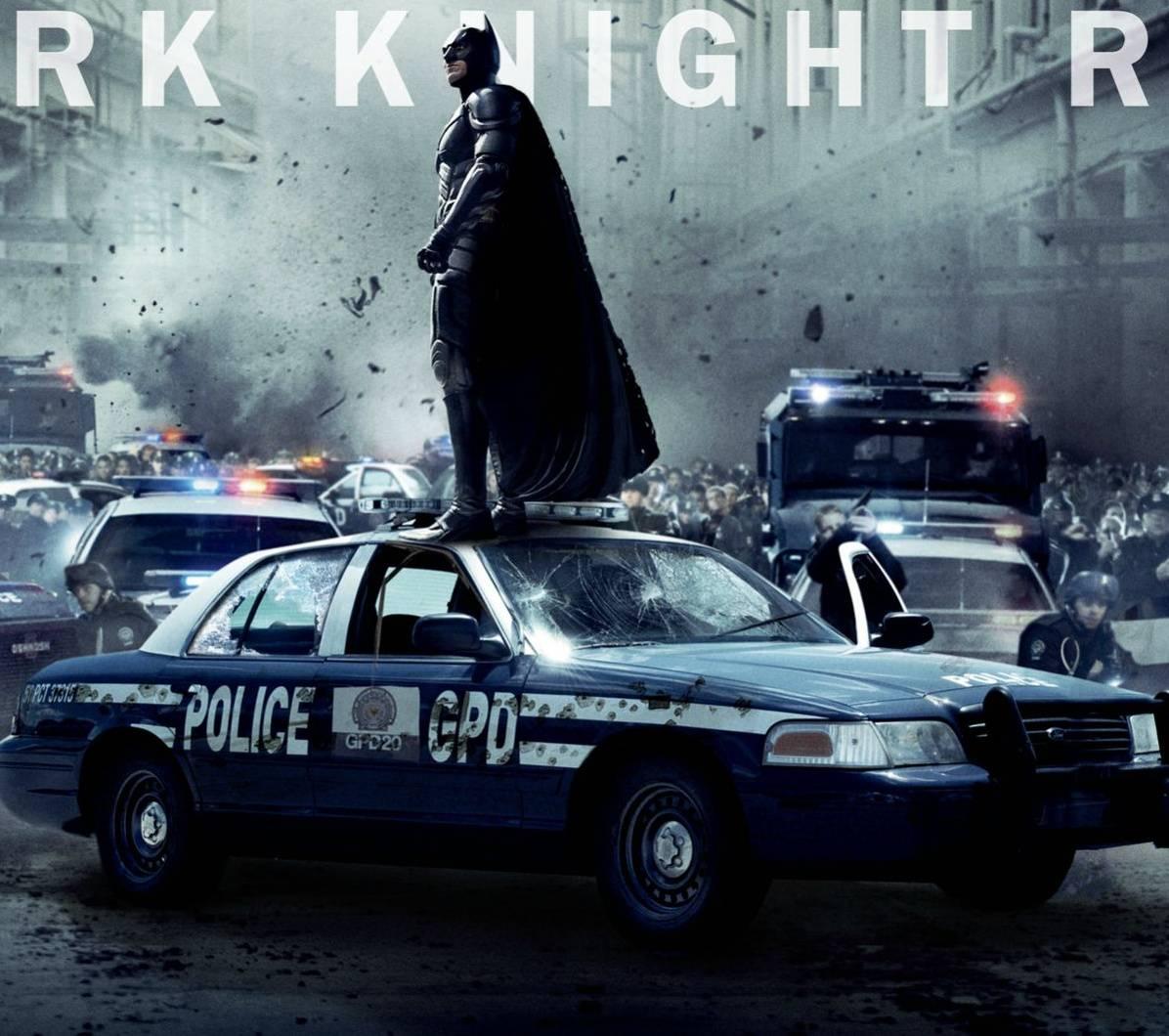 Batman On Cop Car