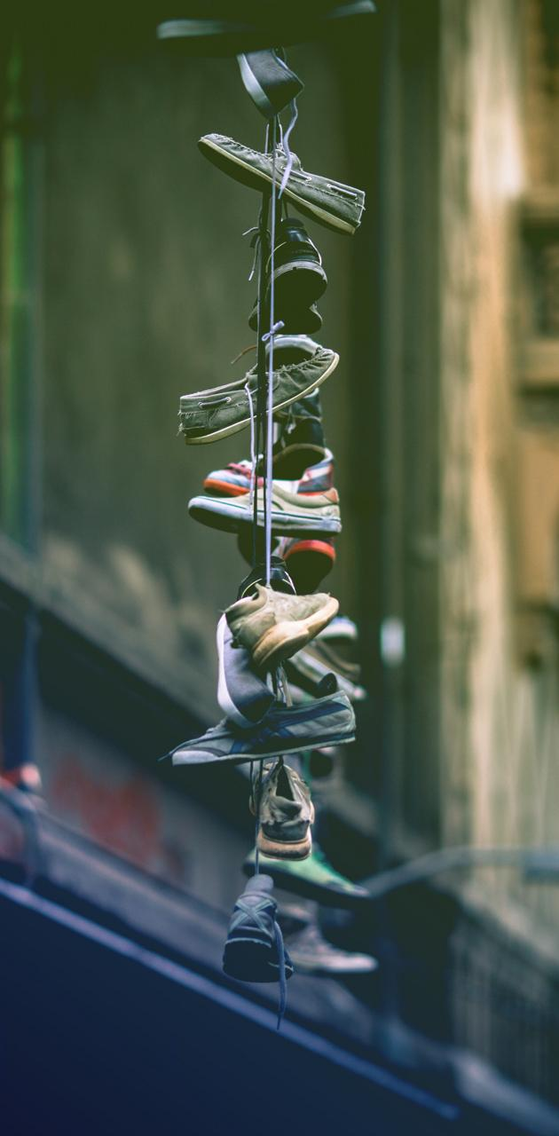 Shoes on a Line