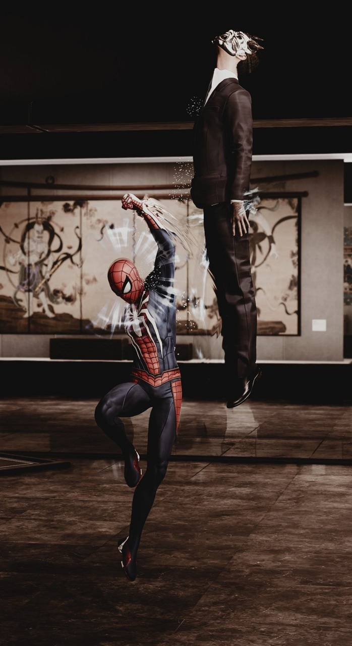 Spider Man Demon