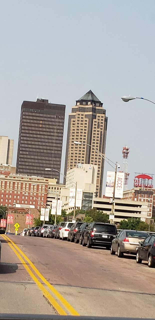 Downtown Des Moines