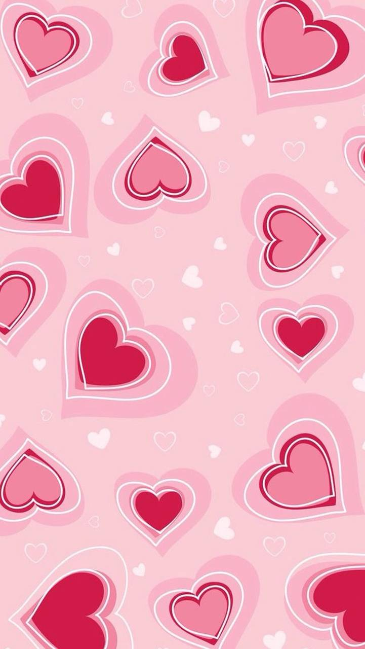 Tiny Hearts in Pink