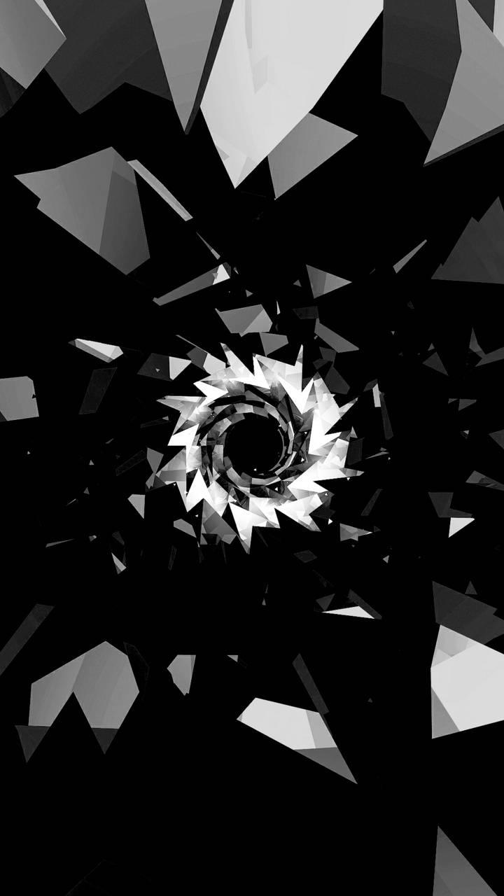 Dark circle vortex